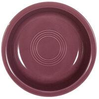 CAC TG-B7-PLM Tango 20 oz. Plum Round Nappie Bowl - 24 / Case