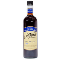 DaVinci Gourmet 750 mL German Chocolate Cake Sugar Free Coffee Flavoring Syrup