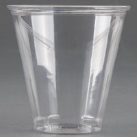 Dart Solo UltraClear TP7 7 oz. Clear PET Plastic Cold Cup - 50 / Pack