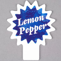 Deli Tag Topper - LEMON PEPPER - Ocean Blue