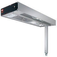 Hatco GRFSLR-24I Glo-Ray 9 inch Fry Station Overhead Warmer with Metal Elements and Infinite Controls - 120V, 620W