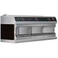 Hatco TFWM-3900 Black Wall Mount Food Finisher with Three Top Heating Elements