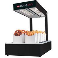 Hatco UGFFL Ultra-Glo Bold Black Portable Food Warmer with Lights - 120V, 870W