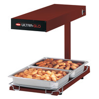 Hatco UGFFBL Ultra-Glo Red Portable Food Warmer with Base Heat and Lights - 120V, 1120W