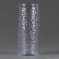 Carlisle 551907 Pebble Optic 20 oz. Clear SAN Plastic Tumbler - 24/Case