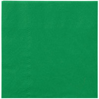 Hoffmaster 180329 Jade Green Beverage / Cocktail Napkin - 1000 / Case