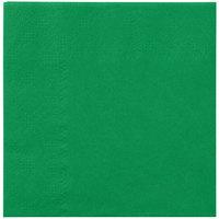 Hoffmaster 180329 Jade Green Beverage / Cocktail Napkin   - 1000/Case