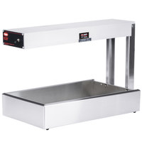 Hatco GRFF Glo-Ray Glossy Gray 12 3/4 inch x 24 inch Portable Food Warmer - 120V, 500W