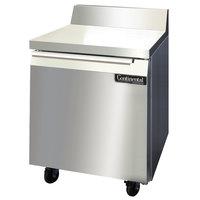 Continental Refrigerator SW27-BS 27 inch Worktop Refrigerator with Backsplash