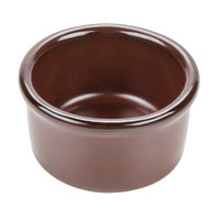 Tuxton GAR-752 Artisan Red Rock 2.5 oz. China Ramekin - 24 / Case