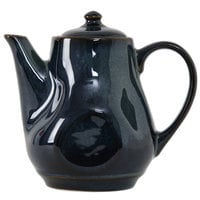 Tuxton GAN-101 Artisan Night Sky 17 oz. China Tea Pot with Lid - 12/Case