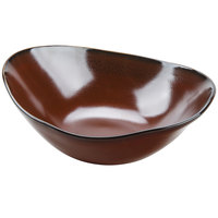 Tuxton GAR-403 Artisan Red Rock 20 oz. China Capistrano Bowl - 12/Case