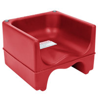 Cambro 200BC158 Plastic Booster Seat - Dual Seat - Hot Red