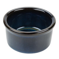 Tuxton GAN-752 Artisan Night Sky 2.5 oz. China Ramekin - 24/Case