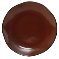 Tuxton GAR-008 TuxTrendz Artisan Red Rock 11 5/8 inch China Plate - 12/Case