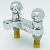 T&S B-0831-VR Deck Mount Centerset Metering and Mixing Faucet with 4 inch Centers