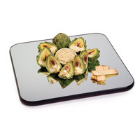 Geneva 275 15 inch Square Rimless Mirror Food Display Tray