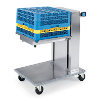 Lakeside 819 Stainless Steel Mobile Cantilever Tray Dispenser for 15 inch x 20 inch Trays