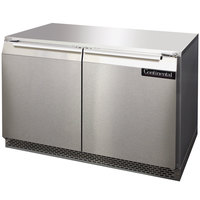 Continental Refrigerator UC48 48 inch Low Profile Undercounter Refrigerator - 13.4 Cu. Ft.