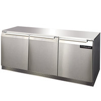 Continental Refrigerator UC72 72 inch Low Profile Undercounter Refrigerator - 20.6 Cu. Ft.