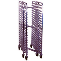 Winholt SS-1810N 10 Pan End Load Stainless Steel Nesting Bun / Sheet Pan Rack - Assembled