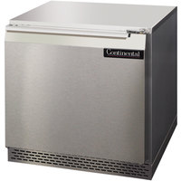 Continental Refrigerator UC32 32 inch Low Profile Undercounter Refrigerator - 9 Cu. Ft.