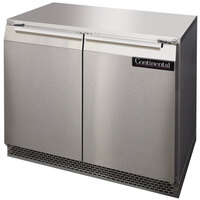 Continental Refrigerator UC36 36 inch Low Profile Undercounter Refrigerator - 10.3 Cu. Ft.