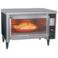 Hatco TFW-461R Thermo-Finisher Black Wide Mouth Food Finisher with Four Top Elements