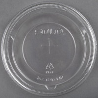 Dart Solo 636TS Clear Plastic Lid with Straw Slot 50 / Pack