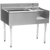 Eagle Group BM3-18R-7 1800 Series 36 inch Underbar Right Blender Module, Ice Bin, and Cold Plate
