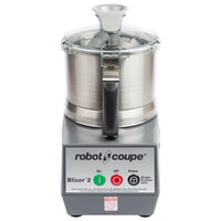 Robot Coupe Blixer 6 Food Processor with 7 Qt. Stainless Steel Bowl and Two Speeds - 3 hp