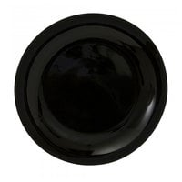 10 Strawberry Street BCP0001 Black Coupe Black 10 inch Dinner Plate - 24 / Case