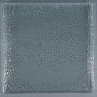 10 Strawberry Street HD908OC Izabel Lam Morning Tide 12 inch Ocean Clear Glass Square Plate - 12/Case