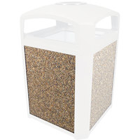 Rubbermaid 400400 River Rock Aggregate Panel for FG397500 and FG397501 Landmark Series Classic Containers (FG400400ROCK)