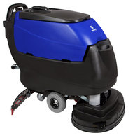 Pacific 875424 S-32 32 inch Walk Behind Auto Floor Scrubber with Transaxle Drive and Chemical Injection - 260AH Batteries with Charger, BatteryShield, and HydroLink