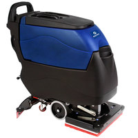 Pacific 855415 S-20 20 inch x 14 inch Walk Behind Orbital Auto Floor Scrubber with Transaxle Drive - Charger, No Batteries