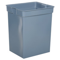Rubbermaid FG256K00 Glutton Gray Rigid Plastic Liner for FG256B00 Container 42 Gallon (FG256K00GRAY)