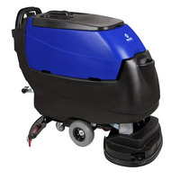 Pacific 875410 S-28 28 inch Walk Behind Auto Floor Scrubber with Transaxle Drive - 250AH Maintenance Free AGM Batteries with Charger