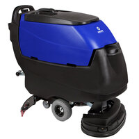 Pacific 875403 S-24 24 inch Walk Behind Auto Floor Scrubber with Transaxle Drive - Charger, No Batteries
