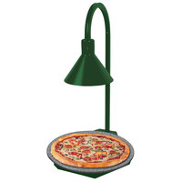 Hatco GRSSR20-DL77516 Glo-Ray 20 inch Green and Gray Granite Heated Stone Shelf with Display Lamp - 120V, 650W