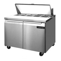 Continental Refrigerator SW36-10 36 inch Refrigerated Sandwich / Salad Prep Table