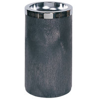 Rubbermaid FG258500 Classic Black Floor Smoking Urn with Metal Ashtray Top (FG258500BLA)