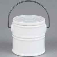 American Metalcraft MCC25 5.5 oz. Mini Ceramic Pail Sauce Cup - 6/Case