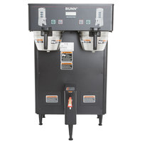 Bunn 34600.0005 BrewWISE Black Dual ThermoFresh DBC Brewer - 120/208V