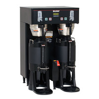 Bunn 34600.0005 Black BrewWISE Dual ThermoFresh DBC Brewer - 120/208V, 5700W