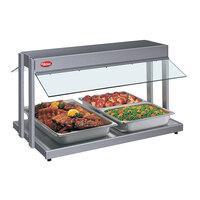 Hatco GRBW-54 54 inch Glo-Ray Gray Granite Buffet Warmer with Infinite Controls - 2290W
