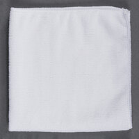 16 inch x 16 inch White Microfiber Cleaning Cloth