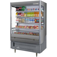 Beverage Air VueMax VM15 Gray 51 inch Air Curtain Merchandiser - 15 cu. ft.
