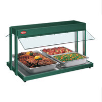 Hatco GRBW-66 66 inch Glo-Ray Green Buffet Warmer with Thermostatic Controls - 2860W