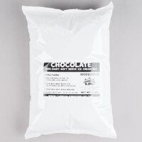 Carnival King Non-Dairy Chocolate Soft Serve Ice Cream Mix - (6) 6 lb. Bags /Case